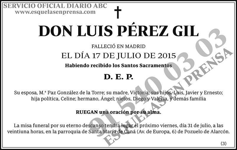 Luis Pérez Gil